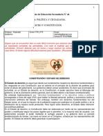 TP NRO 8 EES Nº 44 PYC 5° AÑO ESTADO DE DERECHO
