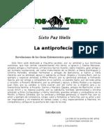 Antiprofecia Sixto Paz