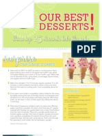 Betty Crocker dessert recipes