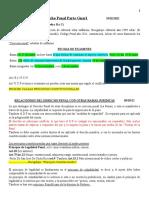 DESAROLLO  CLASES (Dcho Penal Parte Gnarl)