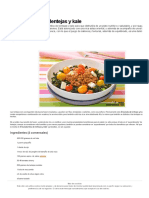 Ensalada tibia de lentejas y kale _ Gastronomía & Cía