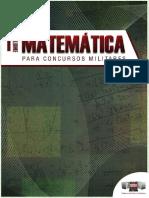MATEMÁTICA PARA CONCURSOS MILITARES VOL 1 - 3° EDIÇÃO