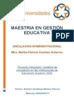 PROYECTO INETGRADOR 2 MODELOS DE VICNUALCIÓN