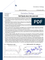 Credit Suisse - Sell SX5E skew