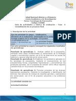 Guia de Actividades y Rúbrica de Evaluación - Unidad 1,2 y 3 - Fase 6 - Consolidación de Un Proyecto Final (1)