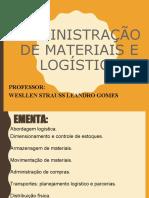 LOGISTICA - EMENTA
