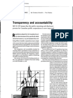 ABI -Transparency and accountability