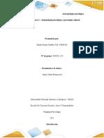 Unidad 2- Tarea 3 - Antropología psicológica y psicología cultural