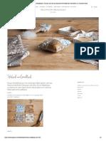 Patchwork-Nadelkissen _ Schauen Sie sich das kreative DIY-Projekt der Schwestern an _ Søstrene Grene