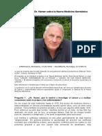 Entrevista con el Dr Hamer sobre la Nueva Medicina