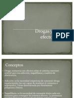 Drogas y sus efectos