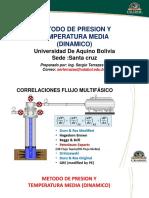 CLASE PRESION Y TEMPERATURA MEDIA  DINAMICO
