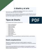 Acerca del diseño y el arte