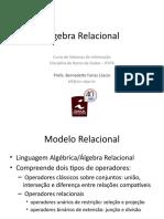 Aula - Álgebra Relacional