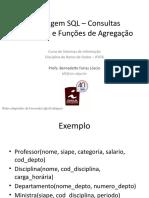 Aula - Conceitos básicos de SQL (funções de agregação e consultas aninhadas (1)