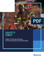Zephyr Performance System First Responders Brochure