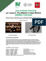 Seminario Itinerante per Maestri - Anbima Toscana 2020