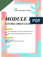 STUDY NOTEBOOK module 1