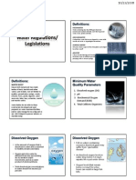 Lecture 3-2 - Water Legislation