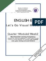 ENGLISH 6 Q1 W2 Mod2 Interpreting Visual Media
