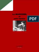 Le Marxisme et notre époque - (Trotsky)