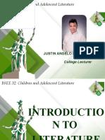 Introduction to Literature_Children and Adolescent Literature