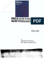 Field and Wave Electromagnetics Cheng