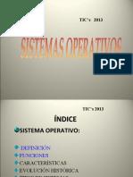 presentacion de los Sistemas Operativos
