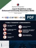 DOTr Omnibus Guidelines