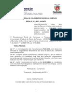 Edital Nº 015-2021 – COGEPS – Homologação Final Do 2 PSS 2020 - Docentes