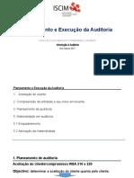 Planeamento de auditoria