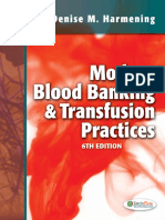 Q&A Modern Blood Banking Transfusion Practices - Harmening, Denise M.