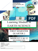 COVER EARTH SCIENCE