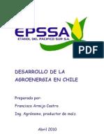 DESARROLLO AGROENERGIA EN CHILE