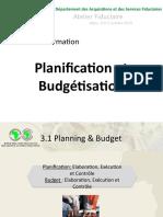 GESTION FINANCIERE_PLANIFICATION et BUDGETISATION - oct 2015