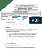 Propuesta Programa de Emprendimiento