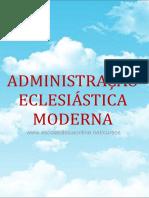 Administração Eclesiástica CFC