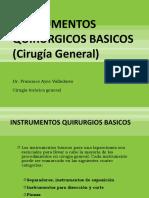 Instrumental Quirurgico Basico