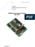 ATMEGA16 Developement Board