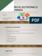 Apresentação Comércio Eletrónico e E-business