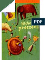 Histoires Pressees - Bernard Friot