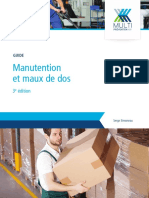 Guide manutention maux dos