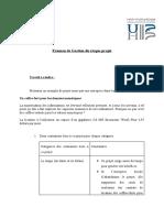 Examen de Gestion du risque projet CCAF