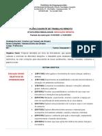 PLANO DOCENTE DE TRABALHO REMOTO 2021 -primeio quinzenal março