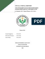 CJR Pengantar Ekonomi Makro Kel 8