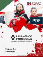 Plan de Estudio Paramédico