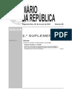 DN n.º 10-A de 2021