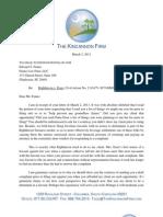Kincannon Response to Fenno/Righthaven, 3-3-11