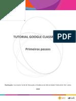 Tutorial-Google-Classroom-Primeiros-passos