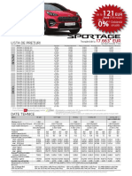 Fisa Produs Sportage Pe2020 Fara Remat General